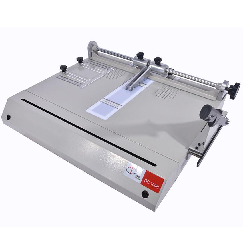 Hardcover making machine DC-100H, hardcover case maker, A4 vertical loading book cover making machine Hot