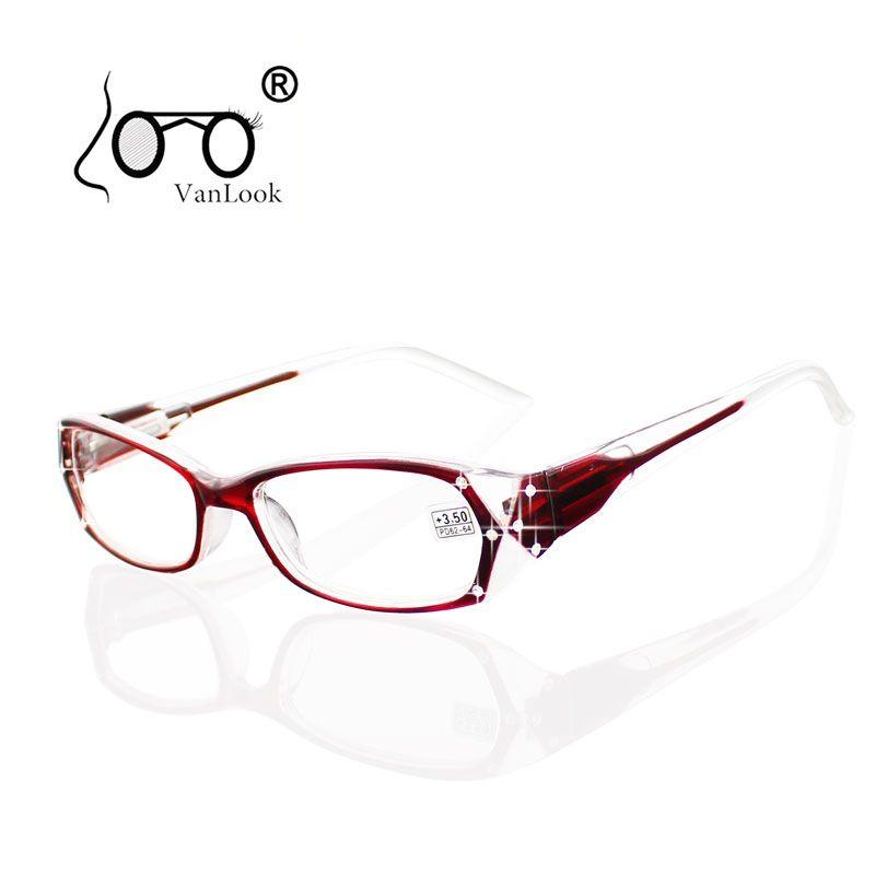 Strass lunettes de lecture femmes Gafas de Lectura montures de lunettes de mode lunettes + 50 + 75 100 125 150 175 200 250 300 350 400
