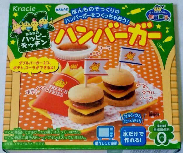 Popin japonais Cookin Hamberger. Kracie Hamburger bonne cuisine Cookin bricolage fait à la main cadeau de noël