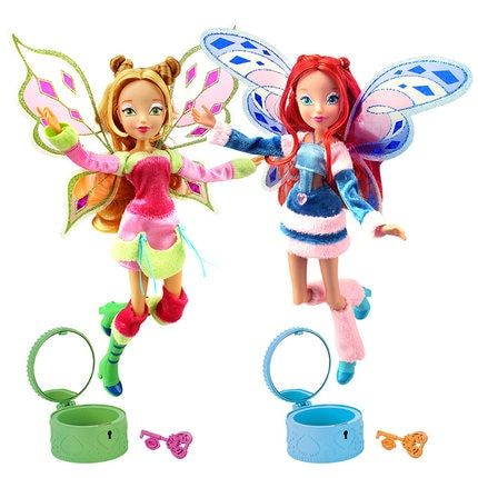 Lovix Fairy Winx Club Doll rainbow colorful girl Action Figures Fairy Bloom Dolls with Classic Toys For Girl Gift