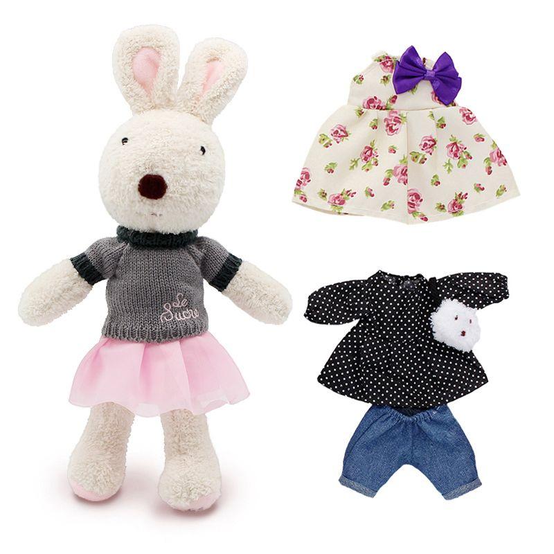 Kawaii le sucre D'origine lapin lapin en peluche poupées et jouets en peluche brinquedos loisirs pour enfants filles en peluche enfants bébé jouets