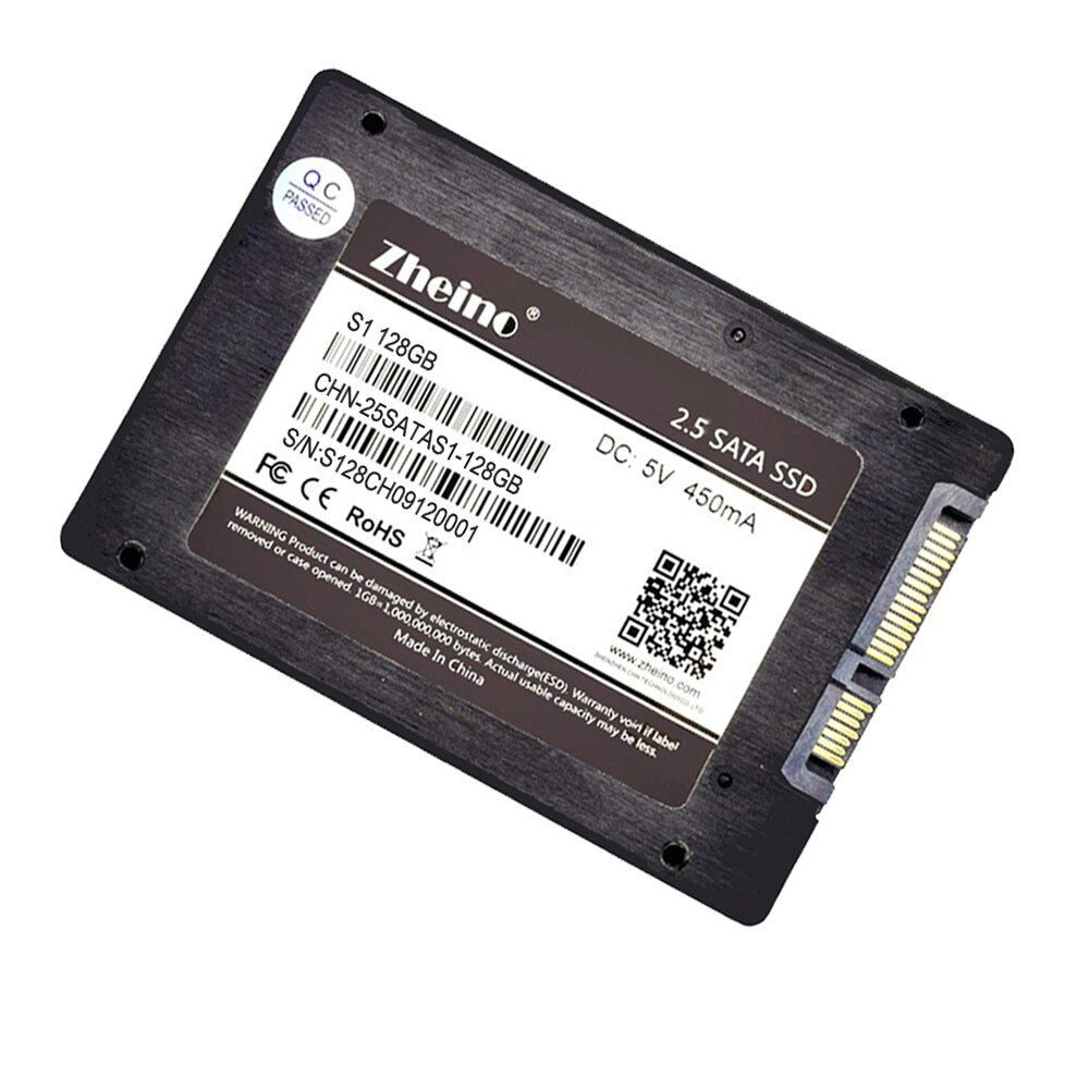 S1 128GB 2.5 Inch 7mm SATA3 SSD 6GB/S Internal Solid State Drive Disk Zheino MLC SSD For Laptop Desktop with 120GB,240GB,256GB