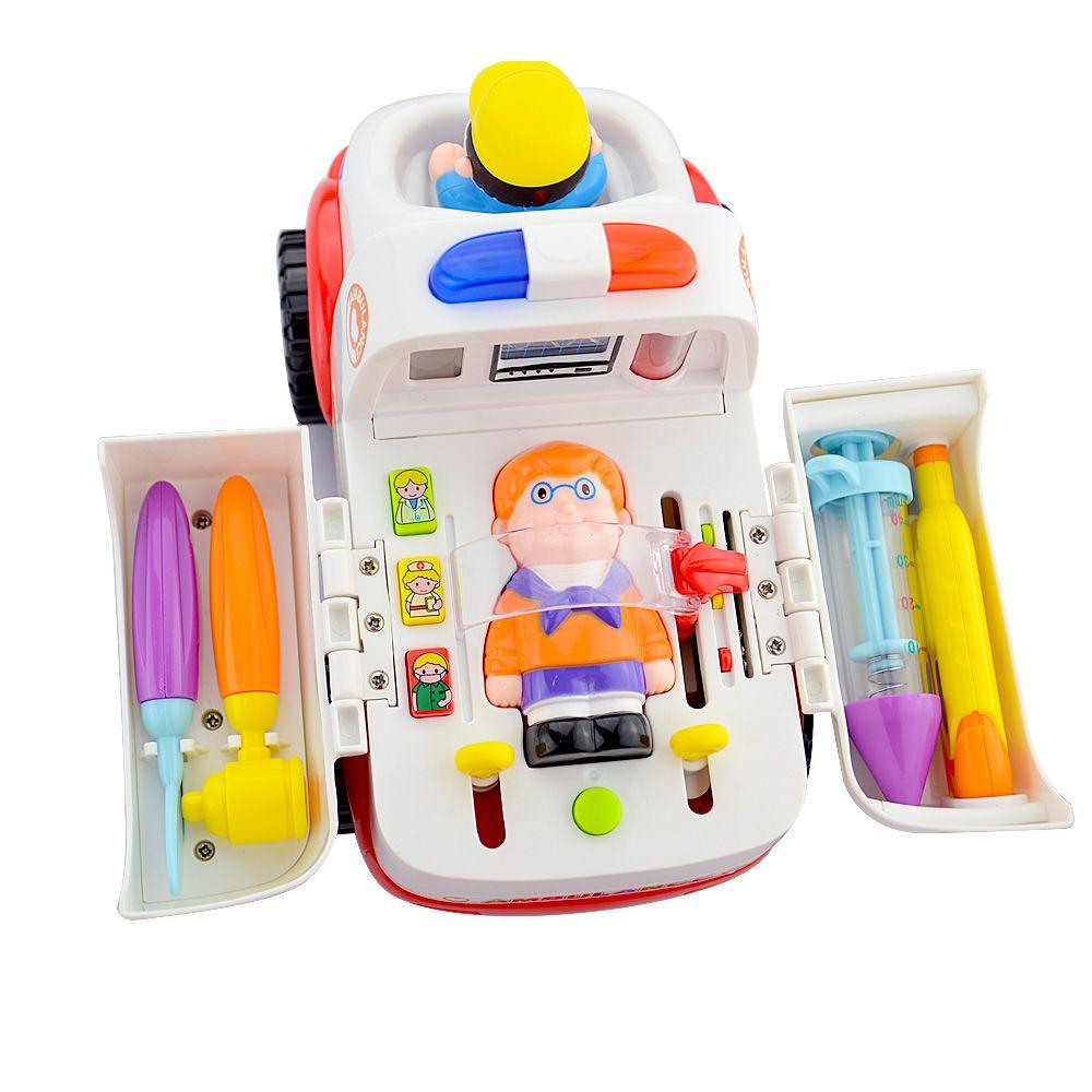1 шт. музыкальный скорой помощи Обучающие Дети Детские и малыш электронные Классические игрушки хобби дети Медицинская тема для детей