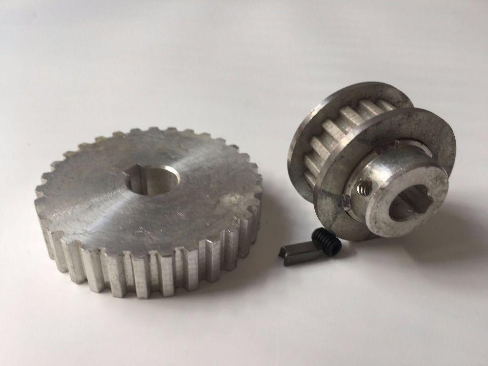 Freeshipping 2 teile/satz Miniatur haushalt drehmaschine armaturen Metall synchron getriebe S/N: CJ0618-148 S/N: CJ0618-027