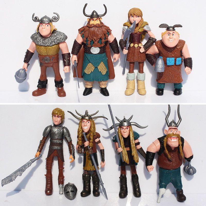 Promotion! Anime comment former votre Dragon 2 figurine jouets fureur de nuit sans dents Gronckle mortel Nadder Dragon jouets pour les garçons
