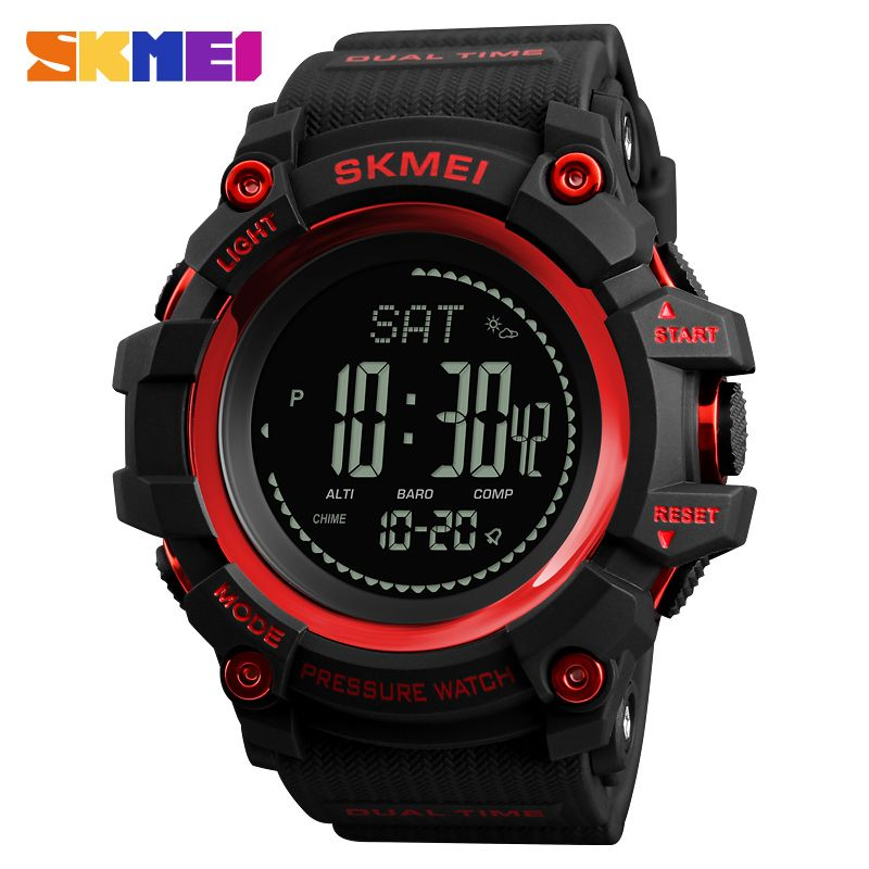 New Mens Sports Watches SKMEI Brand Outdoor Digital Watch Hours Altimeter Countdown Pressure Compass <font><b>Thermometer</b></font> Men Wrist Watch