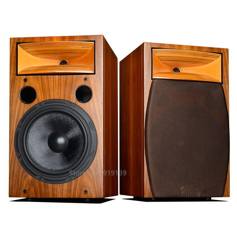 Kraftvollen Sound Hifi Audio 10 Zoll 2-Weg Bücherregal Lautsprecher Paar Für Wohnzimmer Home Cinema Theater Surround System