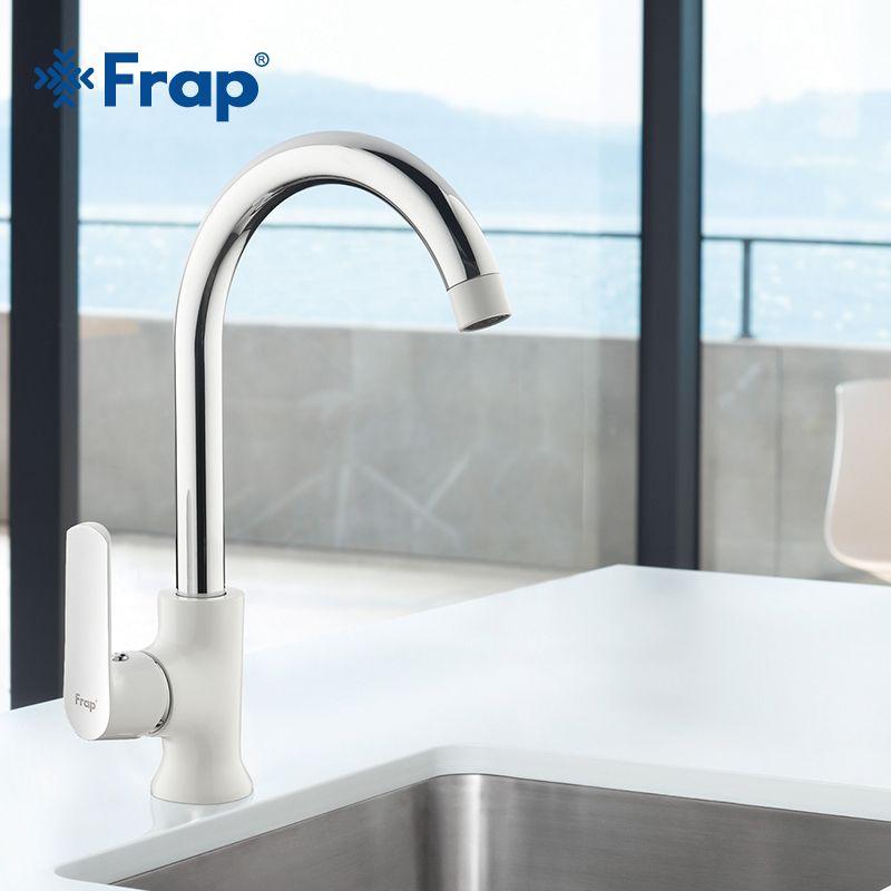 Frap новоприбывшие современная мода стиль латунный Смеситель для кухни дополнительно 3-360 градусов вращения torneira Cozinha смеситель f4031