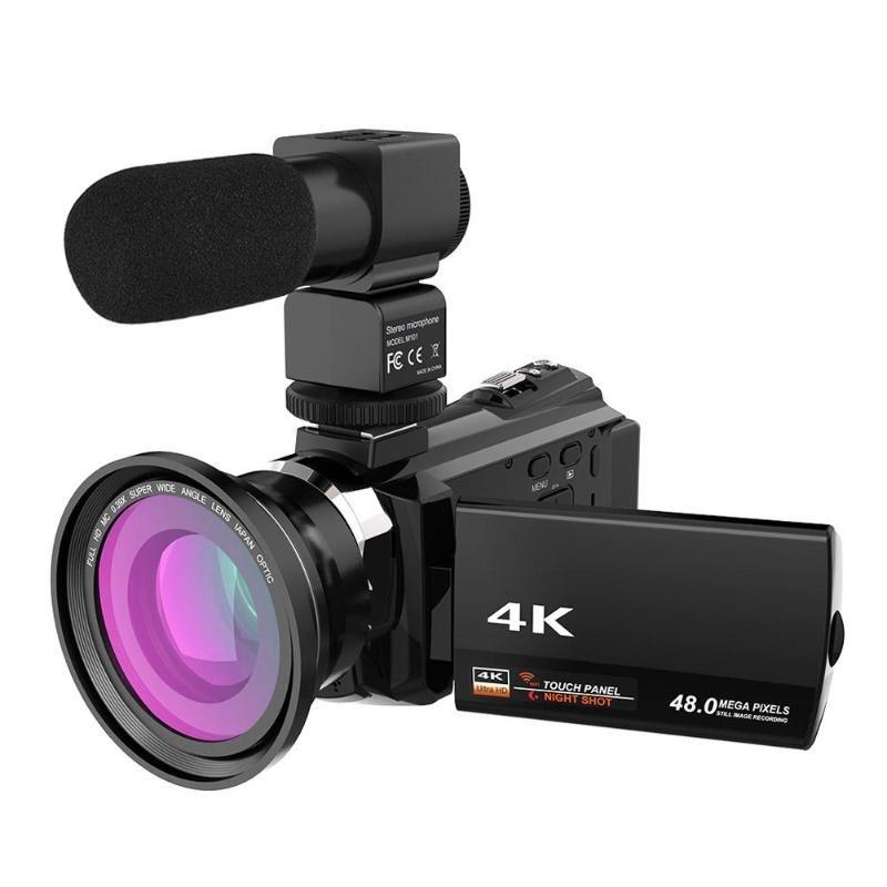Portable 4K Ultra HD 16X Zoom 48MP WiFi Digital Video Camera Camcorder DV 3