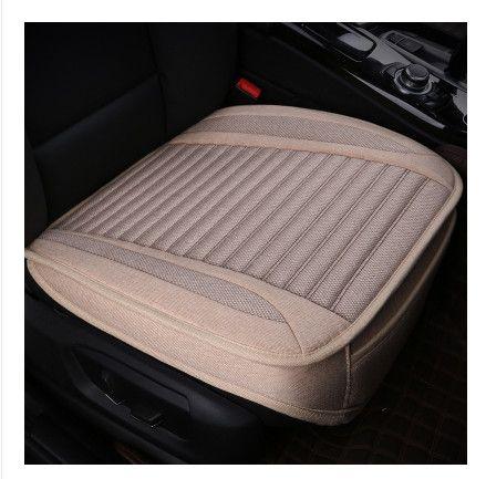 Coussin de siège de voiture été sans dossier d'une chaise entourée de quatre saisons général lin entier trois pièces coussin monolithique