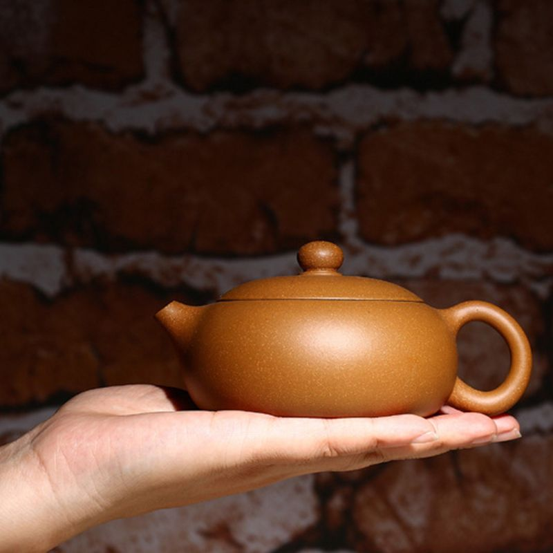 180 ML BianXiShi Segment Schlamm Yixing Lila Ton Teekanne Zisha chinesische Kung Fu Tee Keramik Wasserkocher Porzellan Kunst Teekanne Ältesten geschenk