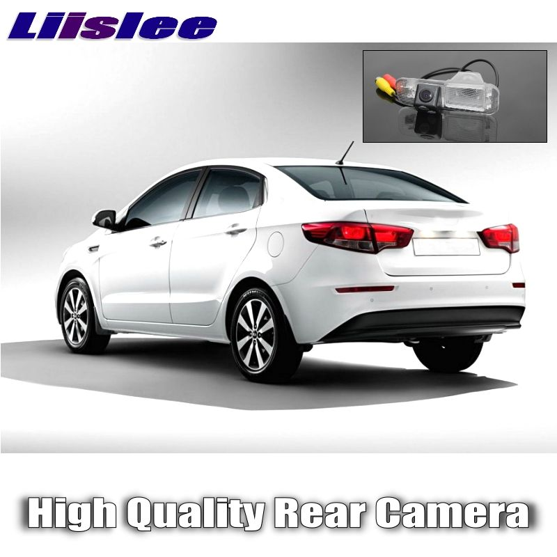 Liislee car Camera For KIA Rio / K2 / Pride Sedan 2011~2017 High Quality Rear View Back Up Camera For Fans Use | RCA