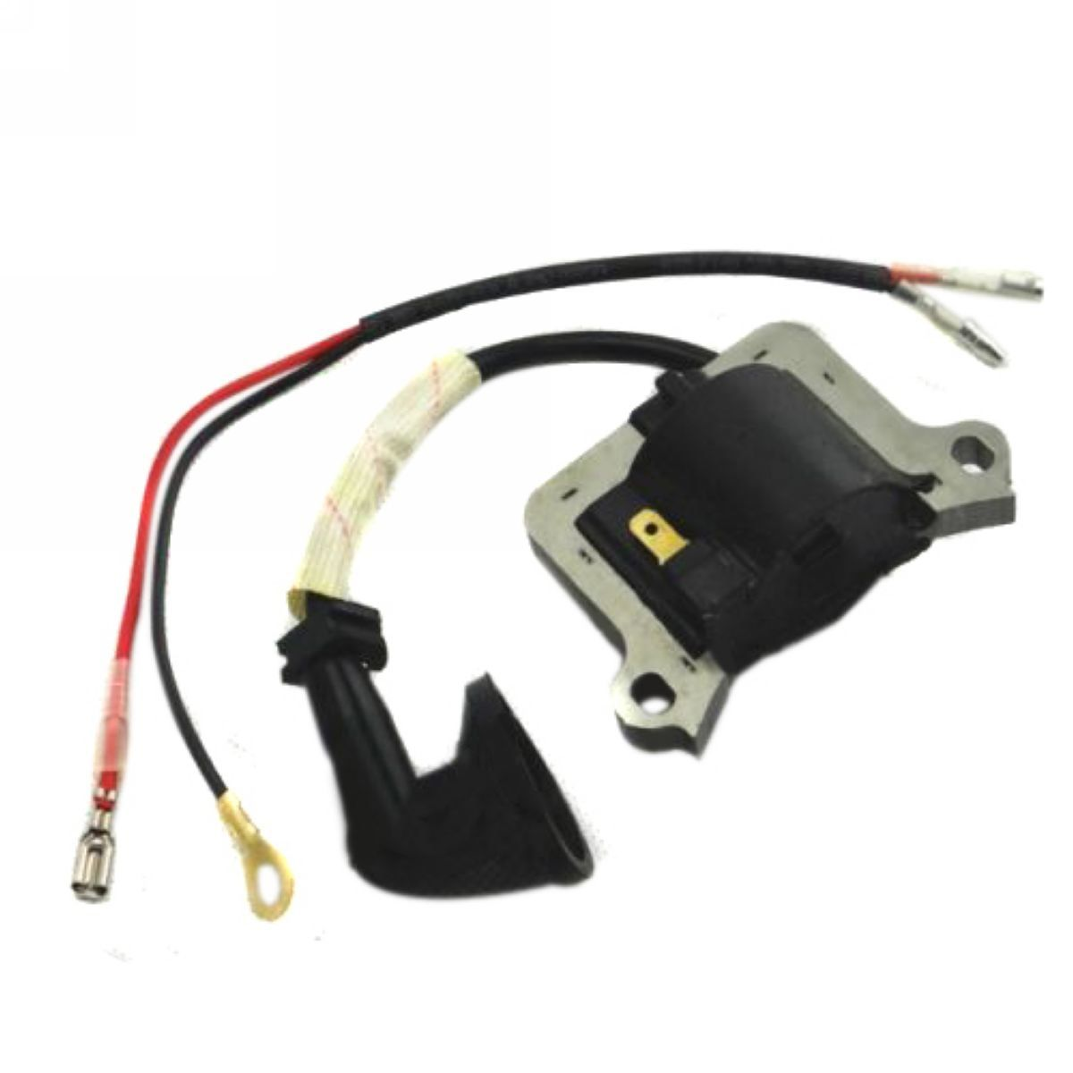 New Ignition Coil For 2 Stroke Engine Strimmer Chainsaw Brush Cutter Lawn Mower Parts Mayitr Garden Tools
