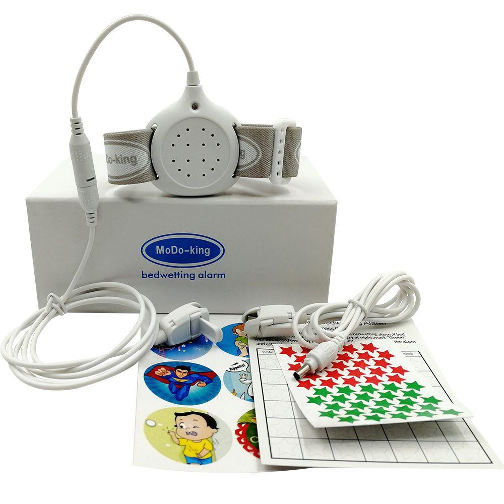 MoDo-king best bedwetting alarm for baby boys <font><b>kids</b></font> best adult bed wetting enuresis alarm nocturnal enuresis MA-108