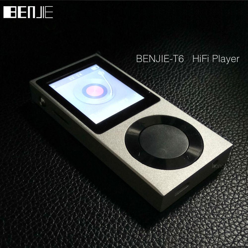 BENJIE Original 1,8 TFT Bildschirm Volle Zink-legierung Lossless HiFi MP3 Musik-Player Unterstützung 256 gb Externe Speicher/ bluetooth/AUX IN