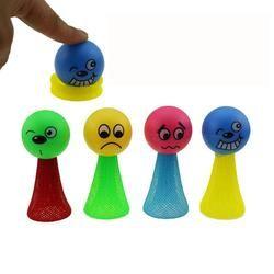 Lucu Colorful Pendidikan Mainan Terbang Manusia Melompat Bouncing Elf Mainan Anak-anak Hadiah 5.30