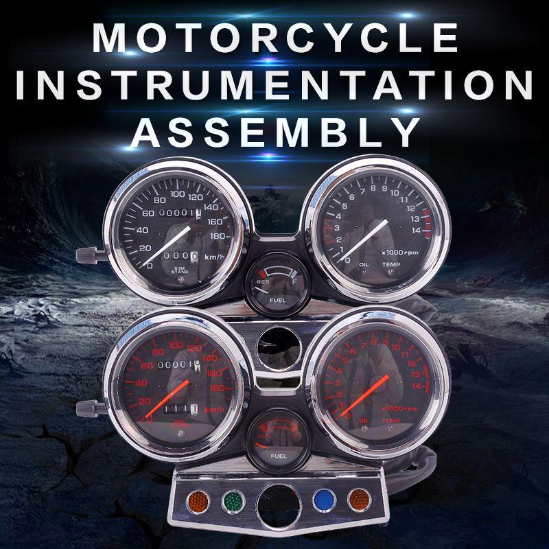 New instrument assembly gauges meter cluster speedometer odometer tachometer for Honda CB400 1995 1996 1997 1998 CB 400 95 - 98