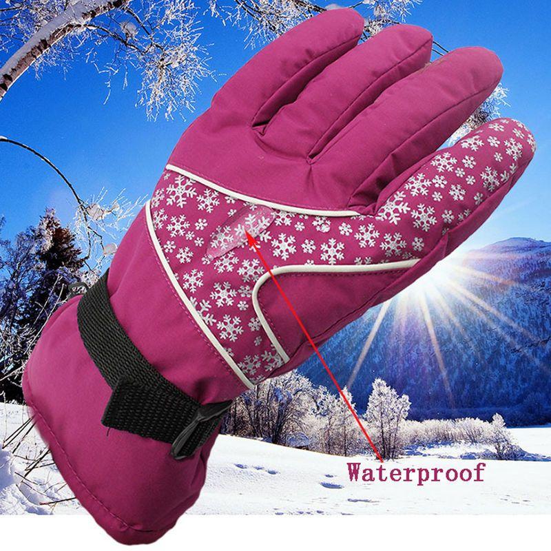 Sport Womens Outdoor Wasserdicht Winddicht Ski Snowboard Winter Schnee Handschuhe