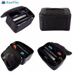EastVita Portable Dur De Protection Carry zipper poignée sac de poche joueur de jeu cas de jeu accessoires sacs pour Nintend Commutateur