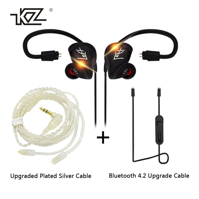 KZ ZS3 HIFI Earphone 3.5mm In-ear Dynamic <font><b>Drive</b></font> Bass Stereo DIY Sport Earbuds With Microphone For Smartphone Earphones