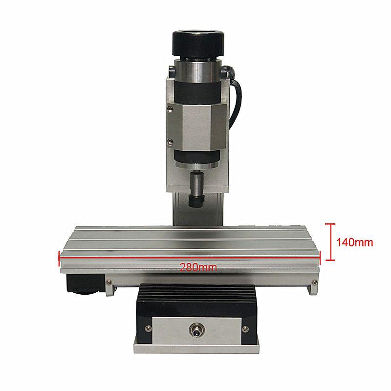 CNC 1010 Rahmen Vertikale Typ 3 Achse Spalte Typ Mini Gravur Maschine Holz Drehmaschine Kit
