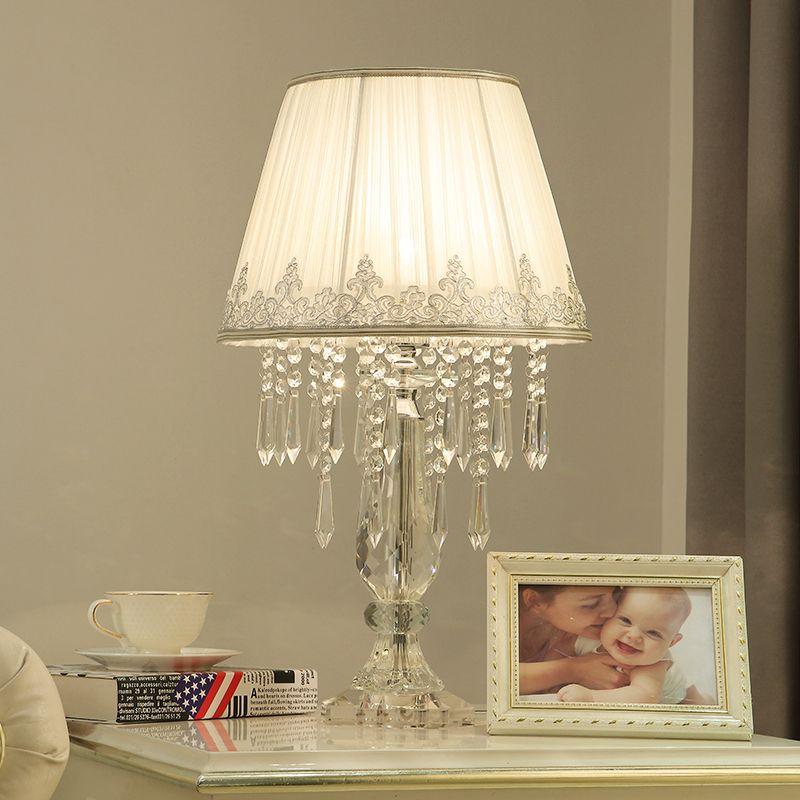 Schönes design kristall tischleuchte kinderzimmer lampe AC110v 220 v lüster nachttischlampen