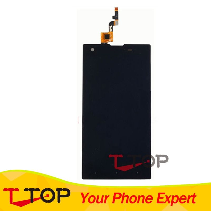 For Fly IQ4511 Tornado One LCD Display Touch Screen Panel Digitizer Assembly Black Color 1PC/Lot
