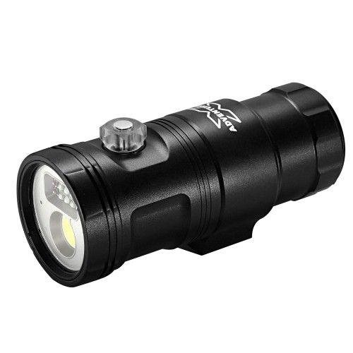X-Adventurer M3000-WRUA 3in1 Smart Focus Video Light (Wide light + Red light + UV light with Auto Flash-Off Function)