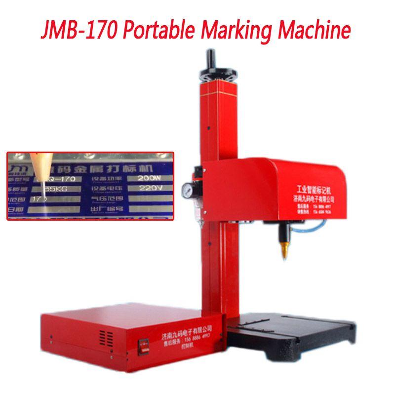 JMB-170 Tragbare Kennzeichnung Maschine Für VIN Code, pneumatische Dot Peen Kennzeichnung Maschine pplicable motor fahrzeug rahmen 110/220 V 200 W