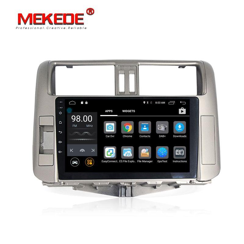 Mekede Car Multimedia player Autoradio car gps dvd player for Toyota Prado 150 Land cruiser 2010-2013 with 4G LTE wifi bluetooth