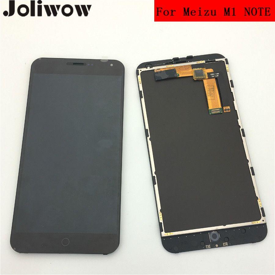 Testé! Pour Meizu M1 NOTE Écran LCD + Écran Tactile + Écran Cadre + Outils Assemblée Digitizer Remplacement POUR 5.5