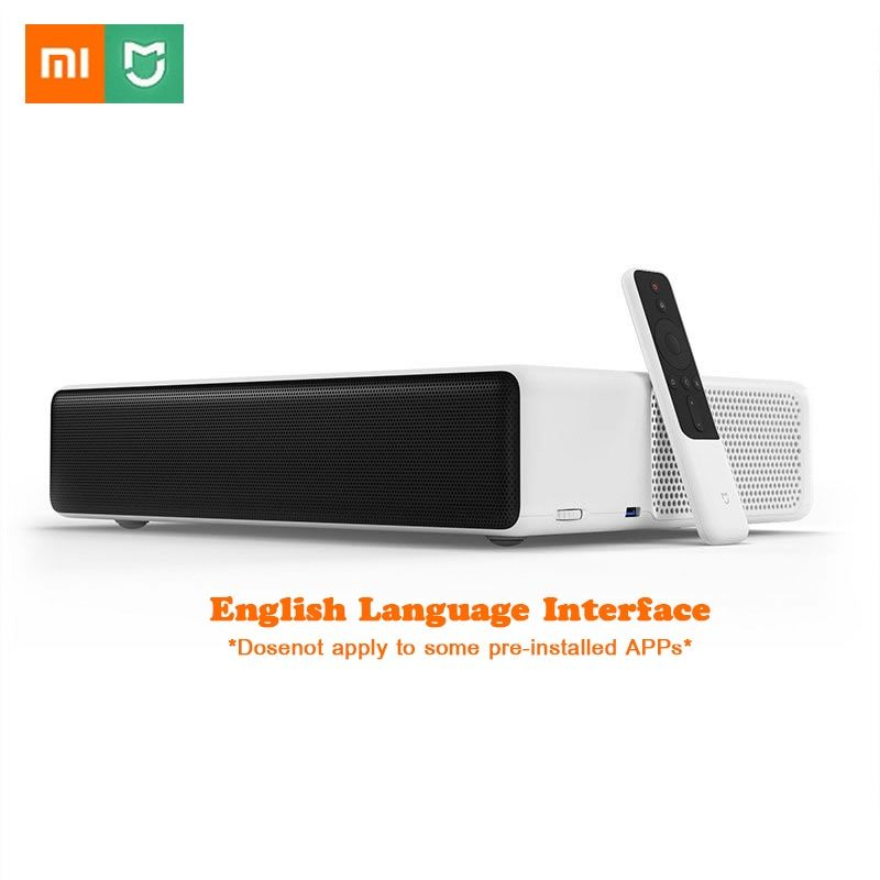 Xiaomi Mijia Laser Projection TV 150 Inches 5000 lumens 1080 Full HD 4K Bluetooth 4.0 Wifi Support DOLBY DTS English Interface