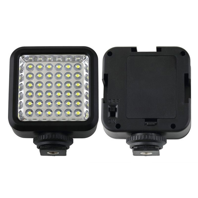 photography parts Video Light 36 LED Rechargeable Battery for DV Canon Nikon Camera Camcorder L3EF