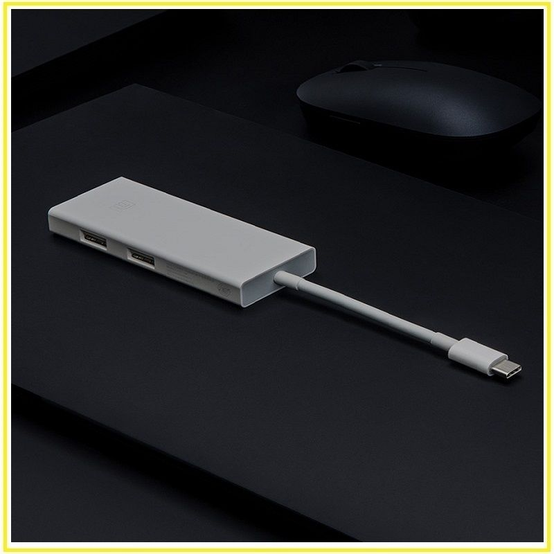 100% Original Xiaomi PD 3.0 Macbook USB-C to Mini Displayport Multifunction Adapter Cable Smart Charger For Laptop Tablet Type-C