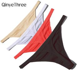Vente chaude Sexy Femmes Coton G Cordes Strings Taille Basse Sexy Culottes Dames Sans Soudure Sous-Vêtements Noir Rouge Blanc Peau