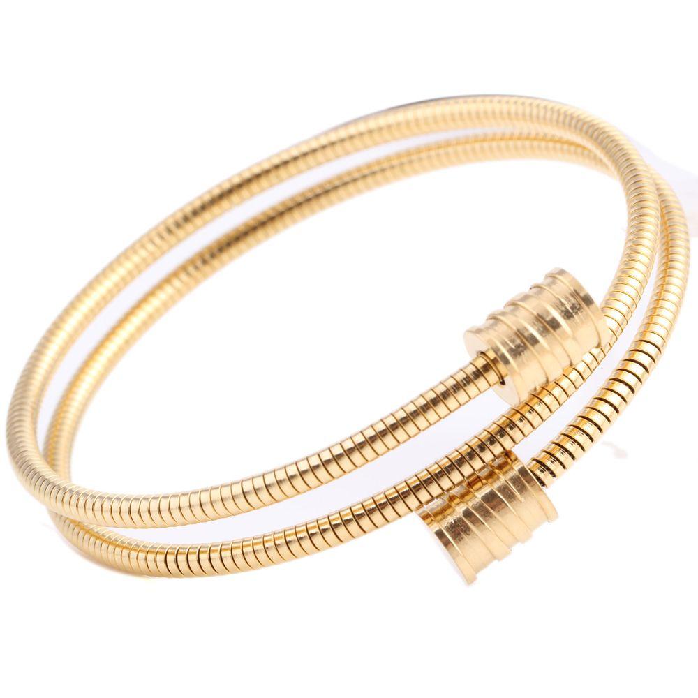 New Arrivals Simple Elegance Fashion Jewelry Bracelets & Bangles Stainless Steel Bracelets For Women