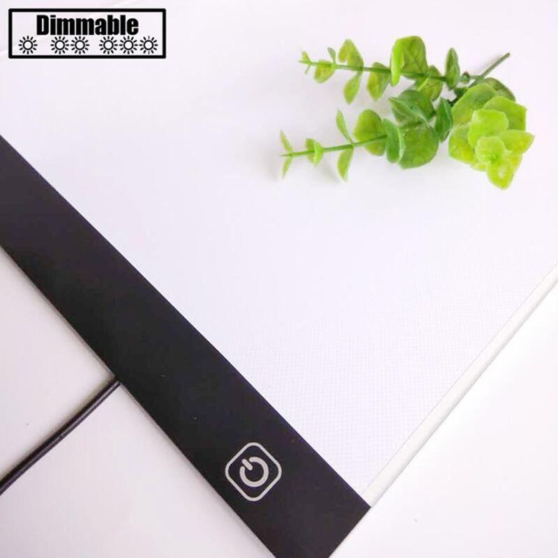 A4/A3 LED Dimmable lumière diamant peinture outils tablette Pad USB Plug diamant broderie accessoires point de croix outil