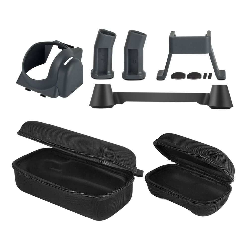 Dji Mavic Pro Accessories (5 in 1 bundle) ,Drone Body and Controller Travel Case and Lens Sun Shade and Transmitter Stick Thumb