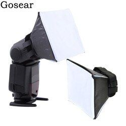Gosear Universal Foto Difusor Lampu Flash Diffuser Softbox Soft Box Tinju untuk Canon Nikon Sony Sigma Pentax Vivitar Kamera