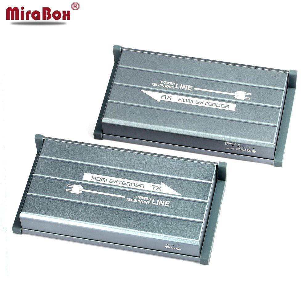 MiraBox HDMI Power Linie Extender Unterstützung 1080 p 300 mt drahtlose übertragung IR Kein linie Drahtlose HD video HDMI Sender empfänger