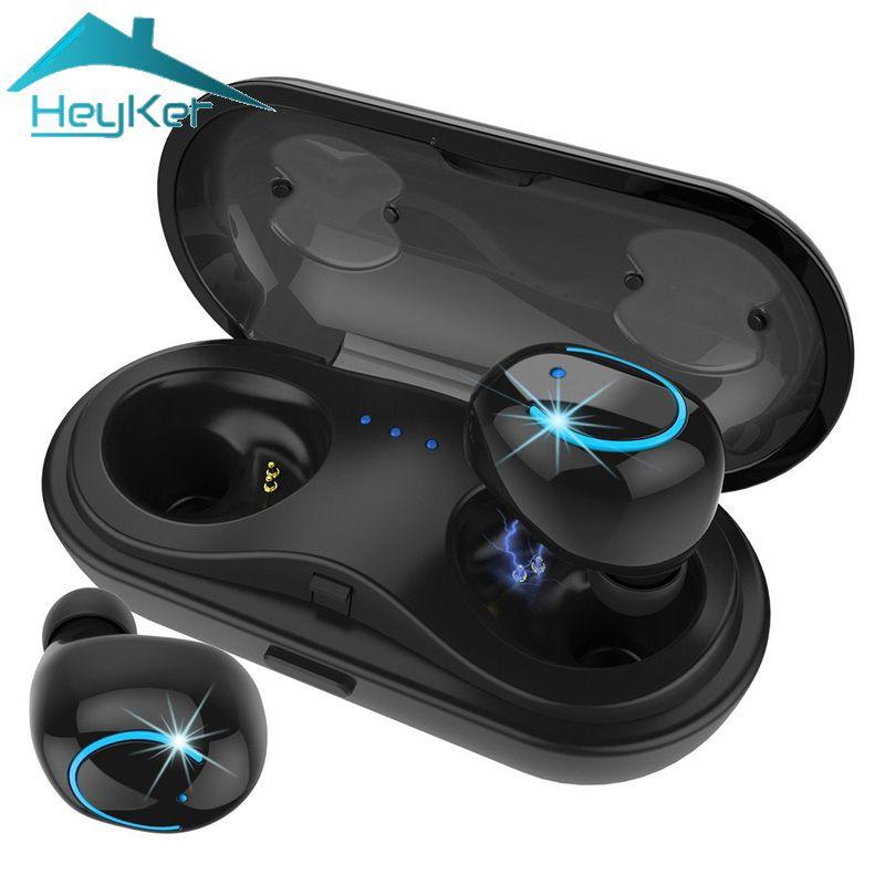 2018 Mini TWS Bluetooth Earbuds Wireless inear Headset Stereo Hifi Blutooth Earphones fone de ouvido sem fio audifono Waterproof