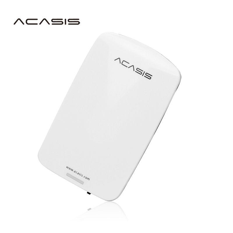 Livraison gratuite Sur Vente ACASIS D'origine 250 GB 2.5 ''USB2.0 HDD Mobile Disque Dur Externe Disque Dur Ont interrupteur d'alimentation Bonne prix