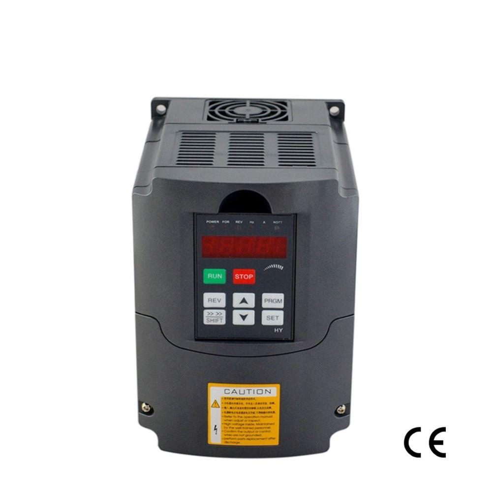 Frequenz inverter 4KW 220 v 5HP 18A variable frequenz umrichter spindel motor speed controller vfd