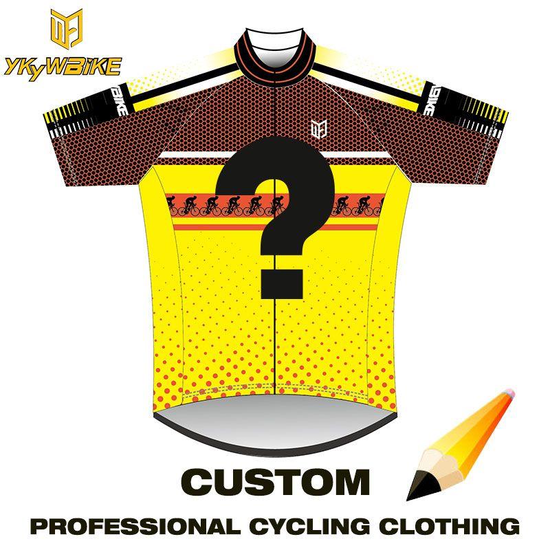 YKYWBIKE Pro Team Radfahren Kleidung Kundenspezifischen Erschwinglichen und Gute Qualität Benutzerdefinierte Ropa ciclismo Benutzerdefinierte Radfahren Kleidung Kundenspezifische