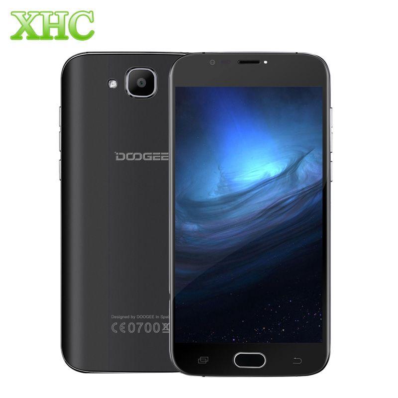 DOOGEE X9 mini WCDMA 3G Smartphones 8GB ROM 1GB RAM 5.0'' 1280 x 720 Android 6.0 Quad Core Fingerprint GPS Dual SIM Mobile Phone