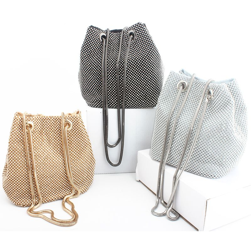 Pochette de soirée sac de luxe pour femme sac à main à bandoulière sacs en diamant pochette de fête de mariage pour femme petit sac en satin fourre-tout bolsa feminina