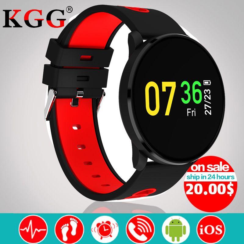 Color screen CF007H Smart Bracelet Heart Rate Monitor Blood Pressure Monitor SMS Notification Sport Tracker PK DM58 K88H