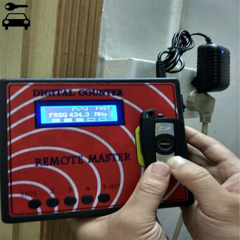 Universal Digital Counter Remote Master for Copy Garage Door Remote Key/Regenerate RF Remote Controller Frequency Key Programmer
