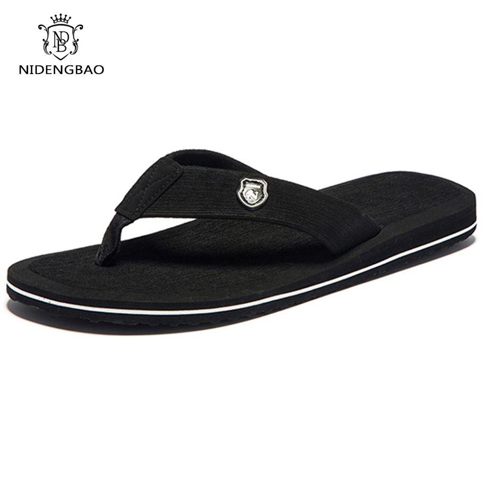 Marque hommes tongs été plage sandales pantoufles pour chaussures plates pour homme haut haut chaussures antidérapantes hommes grande taille 48 49 50 sandales Pantufa