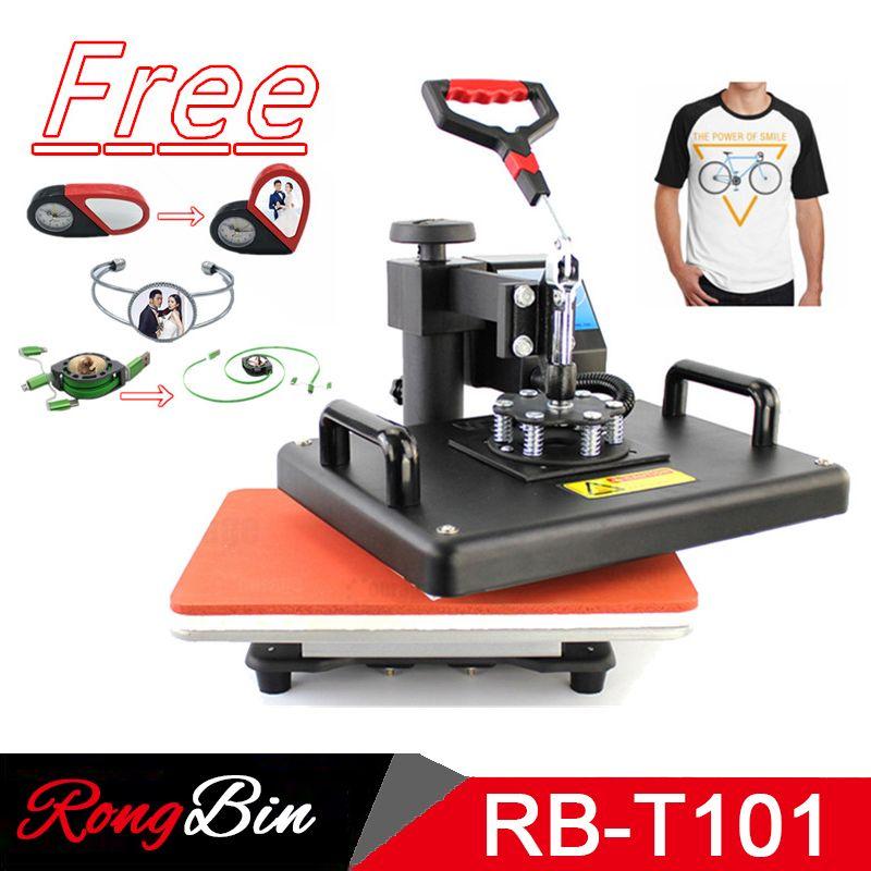 12x15 Zoll Sublimation T-shirt Hitze Presse Maschine Digital Schaukel Wärme Übertragung T-shirt Druck DIY Sublimation Drucker